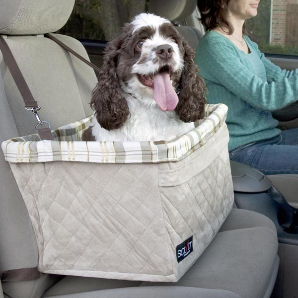 Tagalong Deluxe Pet Booster Seat by Solvit - Extra Large