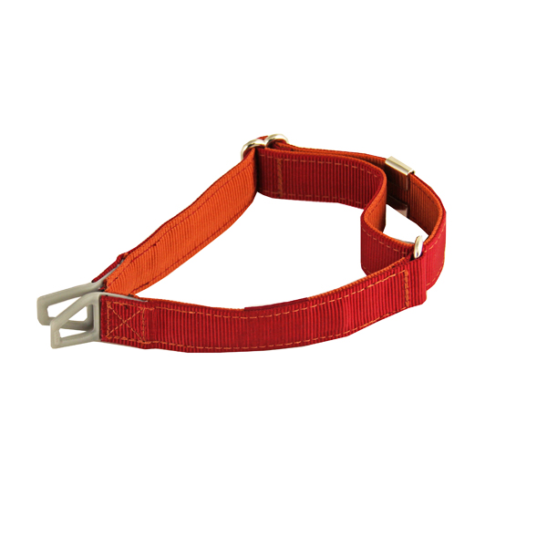 Tazlab Safe-T Stretch Adjustable Dog Collar - Red Rocks Red