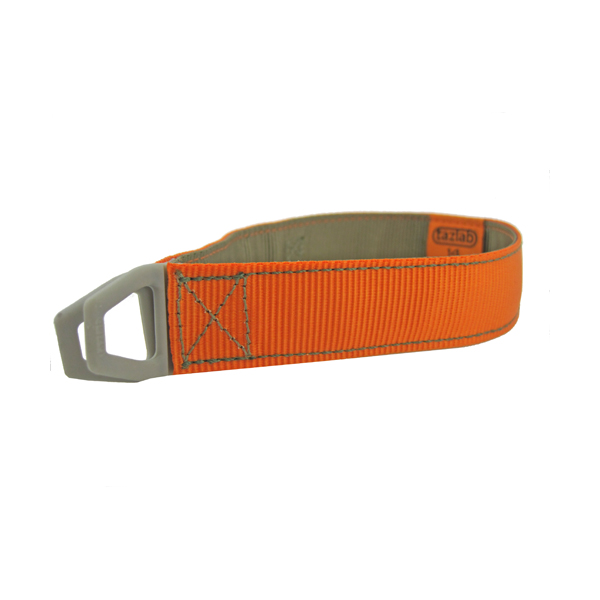 Tazlab Safe-T-Stretch Dog Collar - Blaze Orange