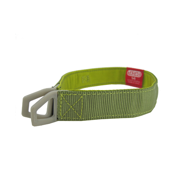 Tazlab Safe-T-Stretch Dog Collar - Gunks Green