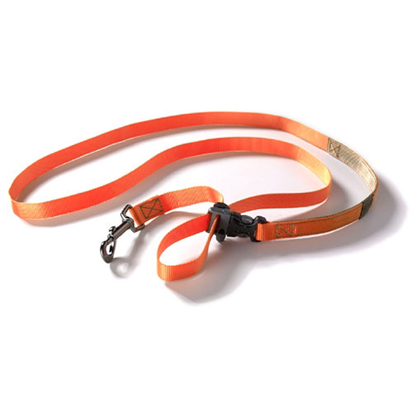 Tazlab Slide-Tech Dog Leash - Blaze Orange