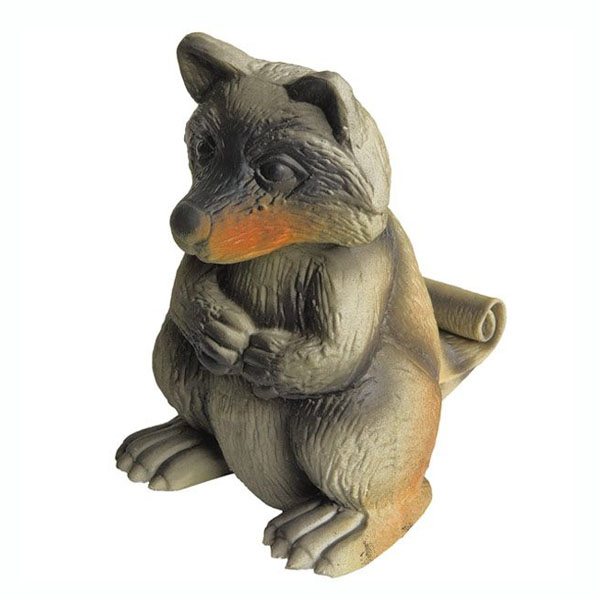 Team Realtree Squeeze Meeze Raccoon Dog Toy