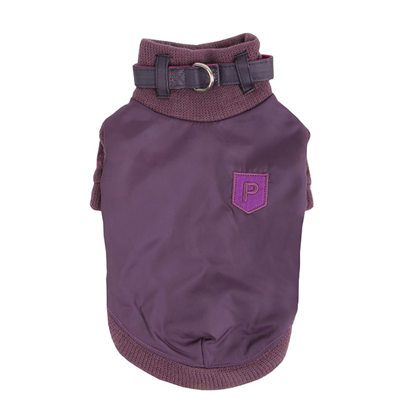 Tender Dog Sweater Set by Puppia - Purple