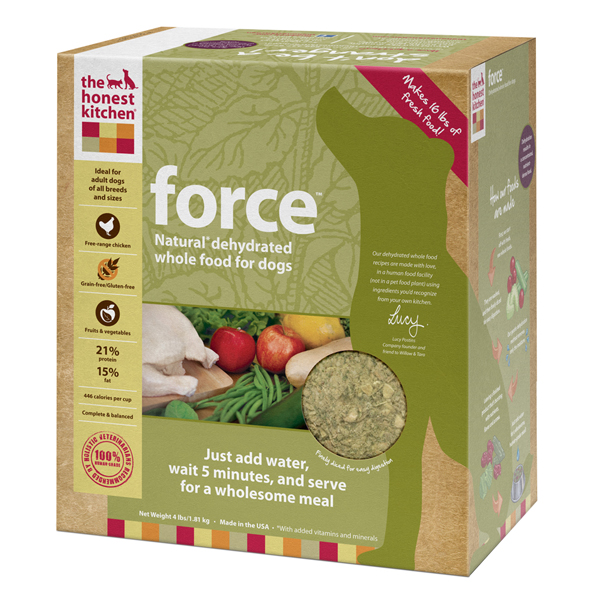 The Honest Kitchen's Force Grain-Free Dehydrated Dog Food