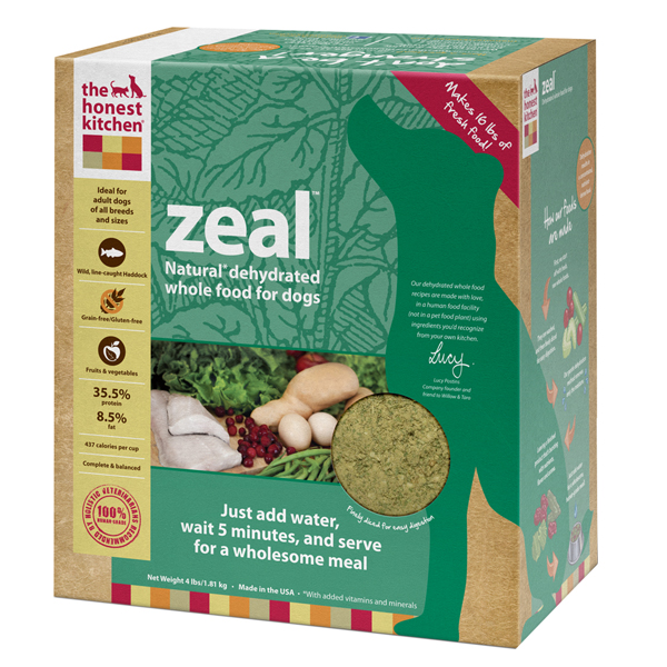 The Honest Kitchen Zeal Dehydrated Dog Food