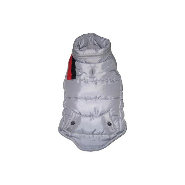 The Puffer Ski Vest - Silver