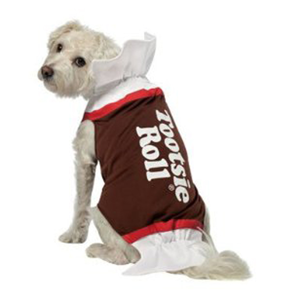 Tootsie Roll Dog Costume by Rasta Imposta