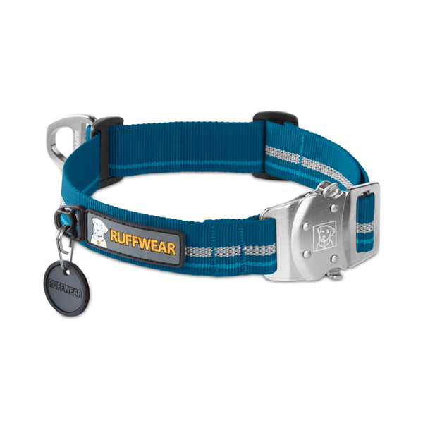 Top Rope Dog Collar by RuffWear - Metolius Blue