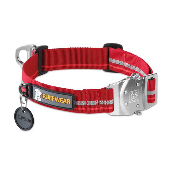 Top Rope Dog Collar by RuffWear - Red Rock