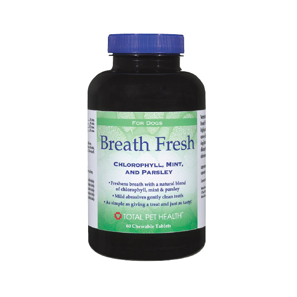 Total Pet Health Breath Fresh Tablets 60ct