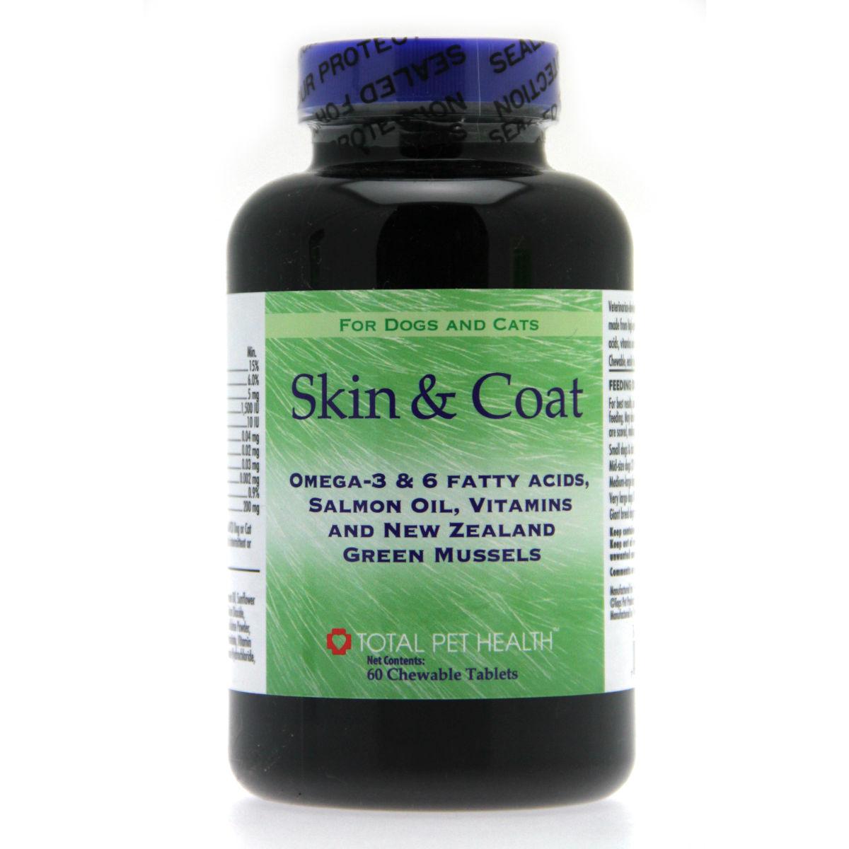 Total Pet Health Skin & Coat Tablets