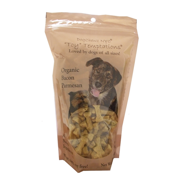 Toy Temptations Dog Treats - Organic Bacon Parmesan