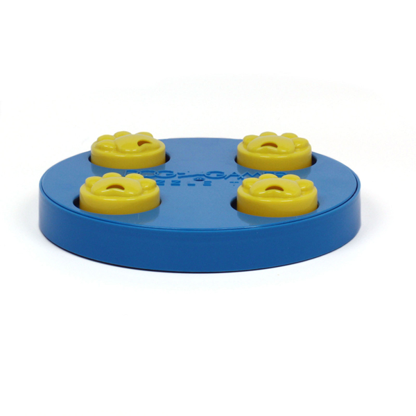 Treat Wheel Puzzle Dog Toy by Kyjen