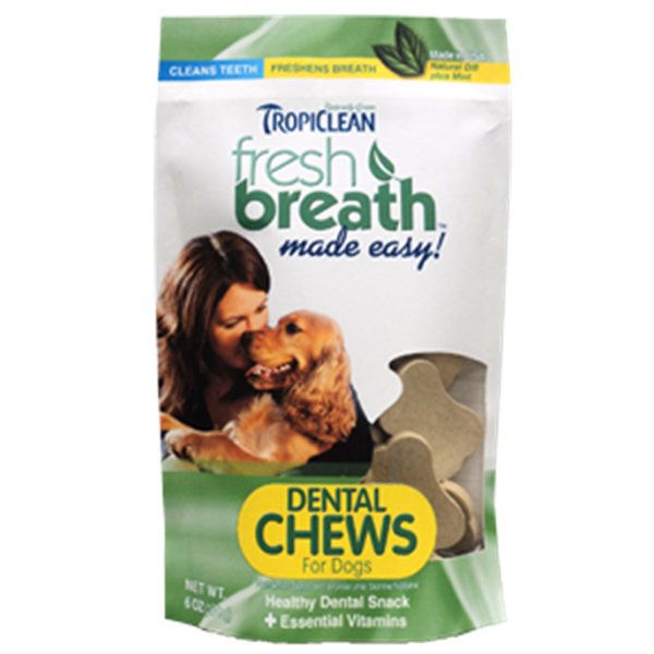 Tropiclean Fresh Breath Pet Chews