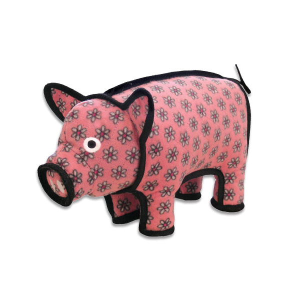 Tuffy Dog Toys Barnyard Series - Pig