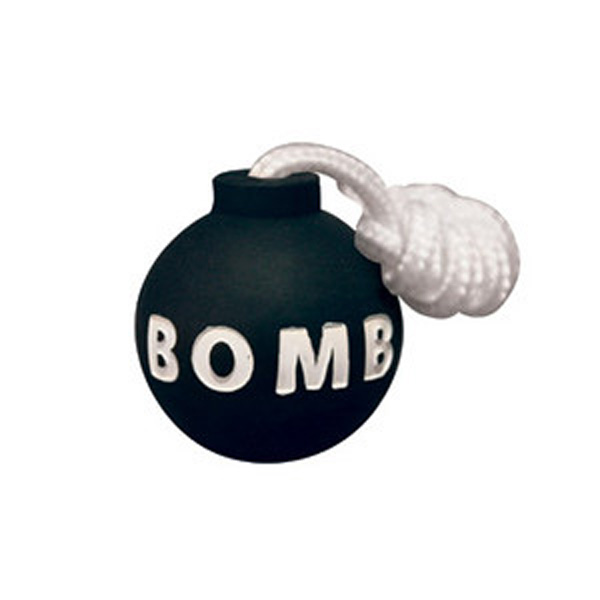 Tuffy Rugged Rubber Dog Toys - Bomb
