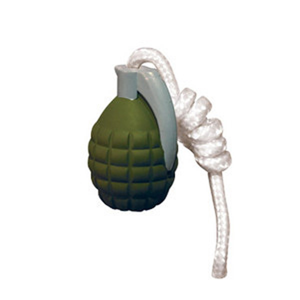 Tuffy Rugged Rubber Dog Toys - Grenade