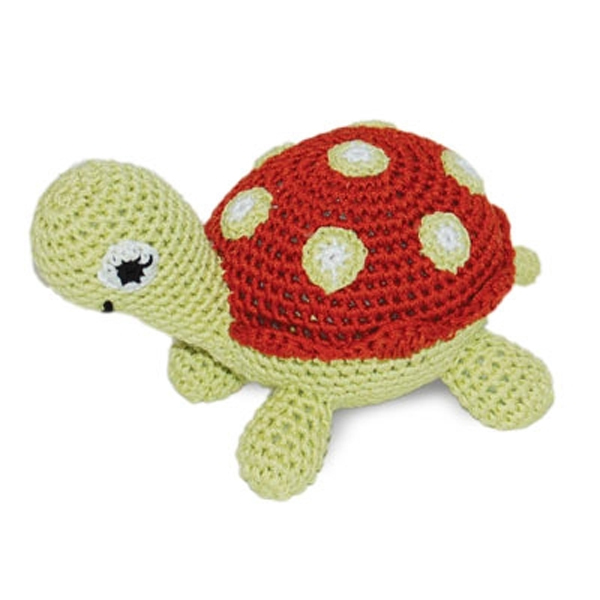 Turtle Crochet Ball Toy by Dogo