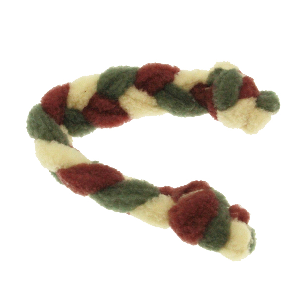 Twist Braided Dog Tug Toy - Wine