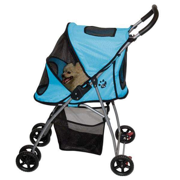Ultra Lite Pet Stroller - Ice Blue