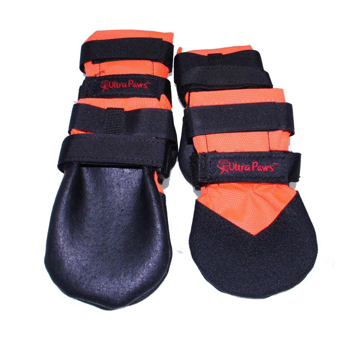 Ultra Paws Rugged Dog Boots - Orange | BaxterBoo