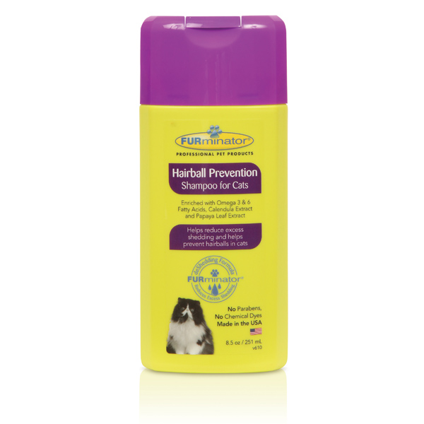 Ultra Premium Hairball Prevention Cat Shampoo