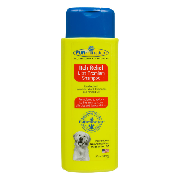 Ultra Premium Itch Relief Pet Shampoo by FURminator