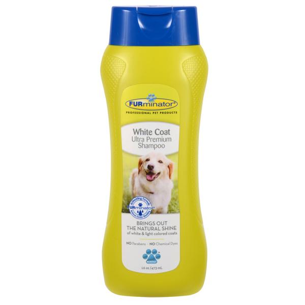 Ultra Premium White Coat Pet Shampoo by FURminator