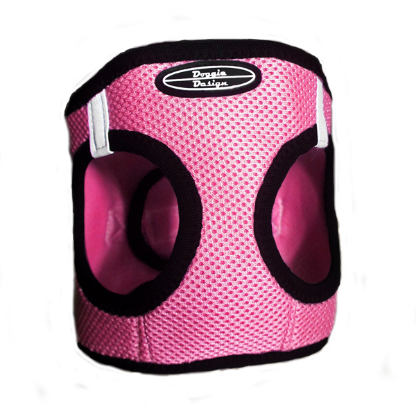 Ultra USA Choke Free Dog Harness by Doggie Design - Bright Pink