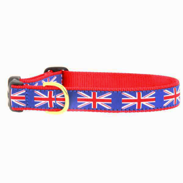 Union Jack Dog Collar by Up Country