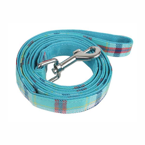 Uptown Dog Leash by Puppia - Aqua