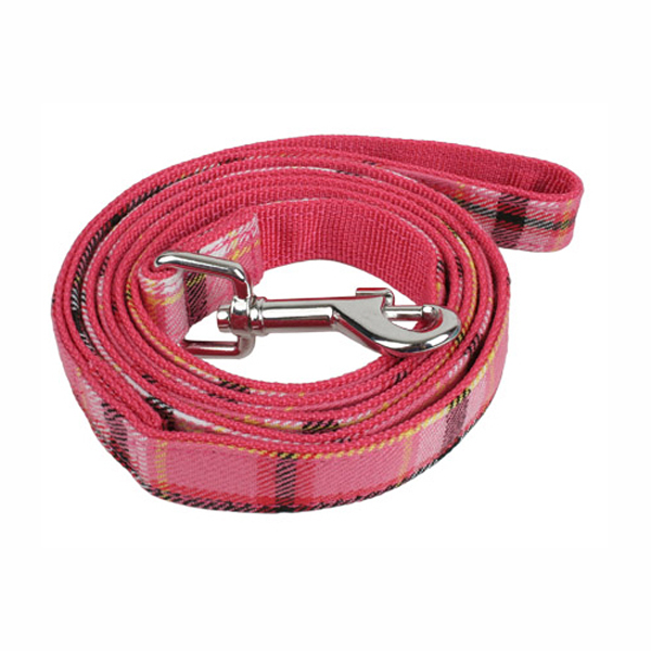 Uptown Dog Leash by Puppia - Pink