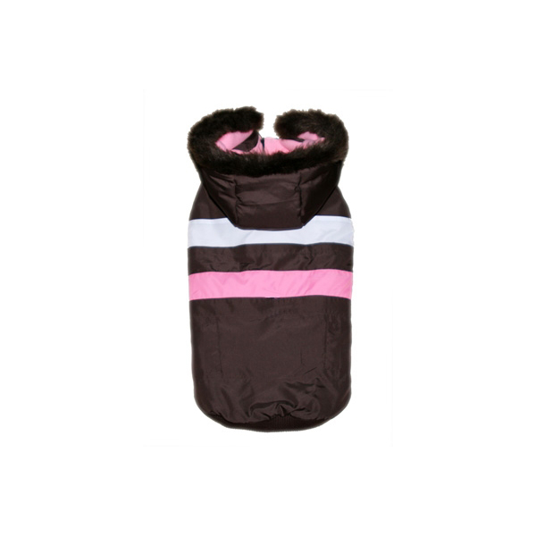 Urban Ski Vest by Hip Doggie - Brown & Pink