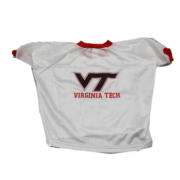 Virginia Tech Hokies Dog Jersey - VT and Virginia Tech on Jersey