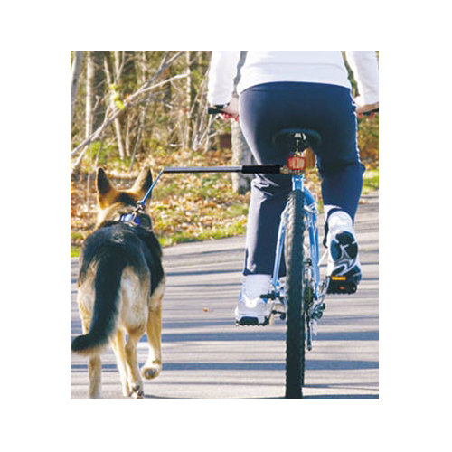 WalkyDog Stainless Steel Bike Leash