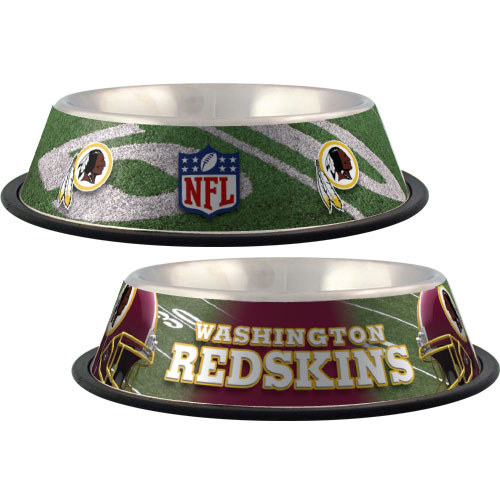 Washington Redskins Dog Bowl