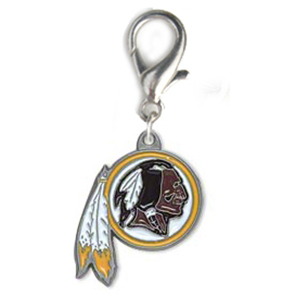 Washington Redskins Logo Dog Collar Charm
