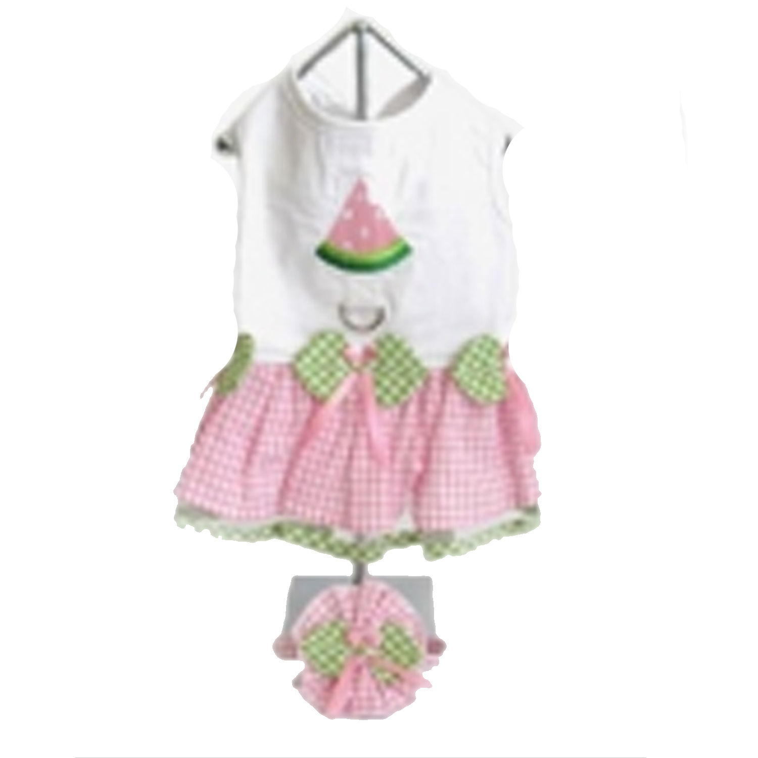 Watermelon Dog Harness Dress