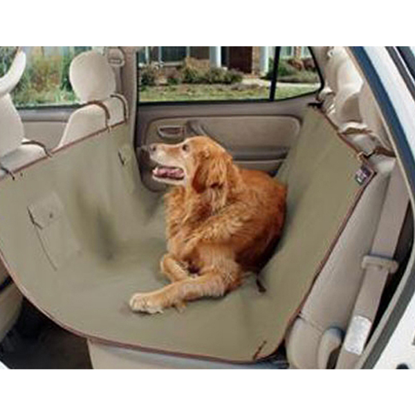 Waterproof Hammock Pet Seat Cover - Beige