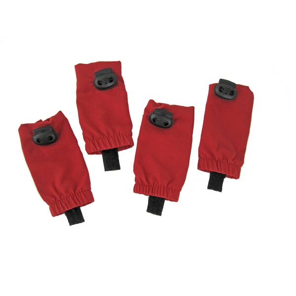 Waterproof Leg Wraps - Red