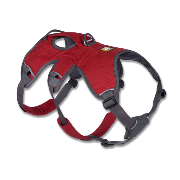 Web Master Dog Harness by RuffWear - Red Currant
