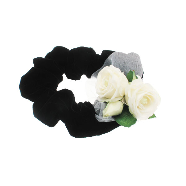 Up Country Wedding Collection - Black Rose Ruff Neckwear
