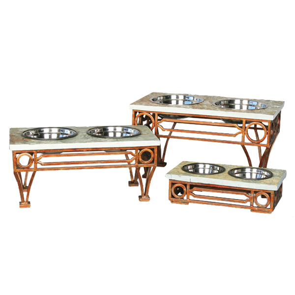 Wescott Slate Top Dog Feeding Table