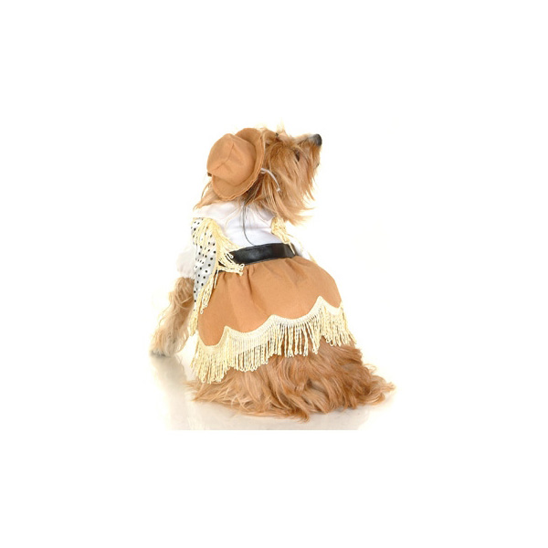 Western Dog Costume Dress