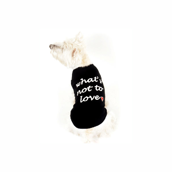 What's Not to Love Dog Tank Top - Black