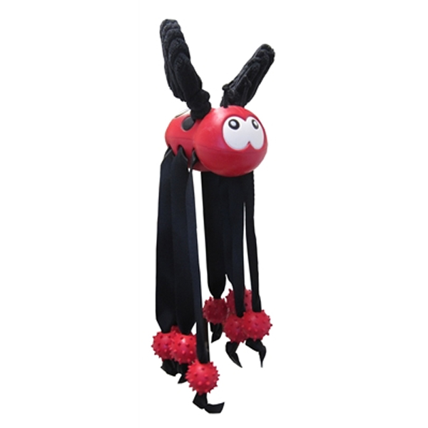 Wiley the Lady Bug Dog Toy by Hugglehounds