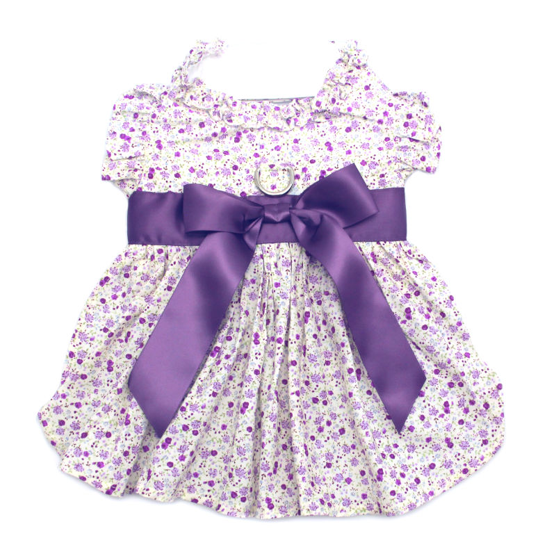 Wisteria Floral Dog Dress by Doggie Design
