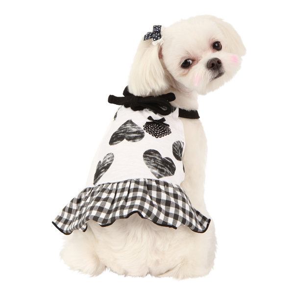 Witty Dog Dress by Puppia - Black