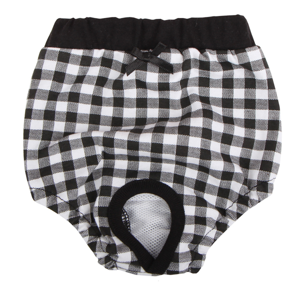 Witty Dog Sanitary Pants by Puppia - Black