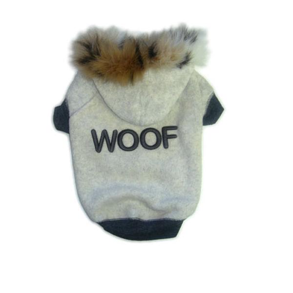 Woof Fleece Hoodie
